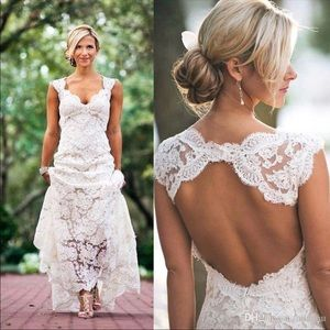 Dresses & Skirts - COUNTRY LACE WEDDING DRESS